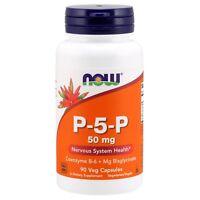 NOW Foods P-5-P 50 mg, 90 Veg Capsules