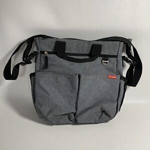 Skip Hop Duo Signature Diaper Bag Gray