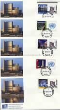 UNO WIEN - 719-23 GRUSSMARKEN 2011 NATIONAL 0,62 AUF 5 FDC / ERSTTAGSBRIEFEN