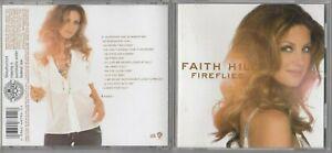 Faith Hill - Fireflies  (CD, Aug-2005, Warner Bros.)