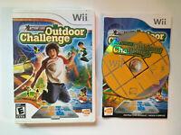 Active Life Outdoor Challenge - Complete CIB - Nintendo Wii