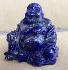 """Lapis Lazuli Buddha 3 1/4"""""""