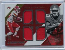 2014 ABSOLUTE TOOL OF THE TRADE De'ANTHONY THOMAS RELIC JERSEY #72/249 NM/MT