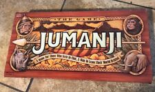Jumanji Board Game 100% Complete 1995 Milton Bradley