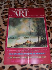 JOURNAL DE L'AMATEUR D'ART n° 619, 01/02/1978 - estampes bouddhiques...