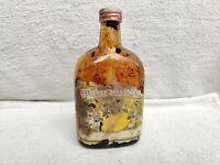 1960s Vintage Old Rare Pure Honey Paper Label Glass Bottle