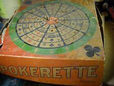Vintage Pokerette Game machine Eyles Mfg Chicago original box trade stimulator