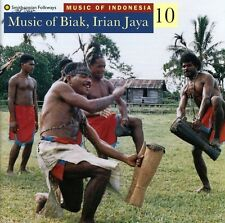 Music Of Biak Iraian Jaya-Wor - Music Of Indonesia 10 (1996, CD NEU)