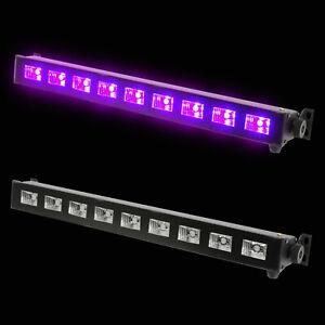 UV 9 LED Bar Light - ultraviolet, blacklight, party, disco, lighting, stage, the