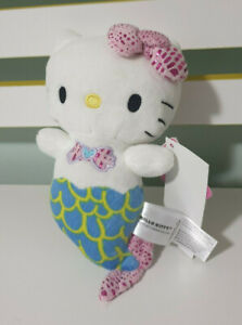 HELLO KITTY MERMAID WITH CLAM BRA LIMTED EDITION SHOWBAG TOY BENSONS 20CM