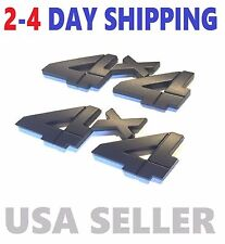 X2 Black 4 X 4 Smoked 3D EMBLEM 4X4 INTERNATIONAL HARVESTER car TRUCK logo DECAL