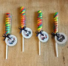 Dallas Cowboys Party Favors Lollipop Twist - Football Birthday Party - Set of 10