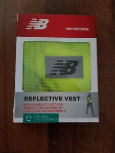 New Balance Reflective Vest For Working Walking Jogging High Visibility Clothing