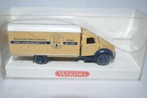 """Wiking 0855 39 Magirus Koffer LKW (""""Rheinische Papier"""") for Marklin NEW w/BOX"""