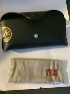 New  Ray Ban Black   Sunglass,eye Glass Case Authentic #1