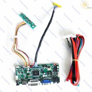 HDMI+DVI+VGA LCD Controller Board converter Monitor Kit for LM240WU2-SLB4 screen