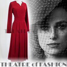 VINTAGE LAURA ASHLEY DRESS 40s 16 14 12 30s 20s FLAPPER GATSBY WEDDING EDWARDIAN