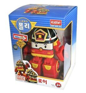 Robocar Poli Fire Truck ROY Robot Transformer Car Toy Figure Action Korean TV