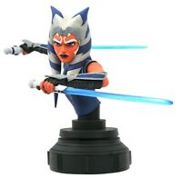 "GENTLE GIANT LTD Star Wars Clone Wars Ahsoka 6"" Mini Bust *PRE-ORDER* NEW"