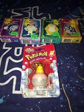 Pokemon Blastoise #09 Mini 50 Piece Puzzle+PSYDUCK+POLIWHIRL+MEOWTH Vtg 90s Lot