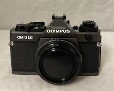 OLYMPUS OM-3 Ti 35MM SLR FILM CAMERA BODY