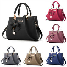 Women Handbag Shoulder Tote Bag Leather Crossbody Ladies Messenger Satchel Purse
