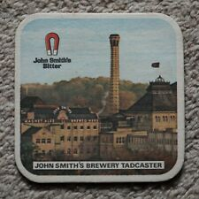 Vintage John Smith's Bitter Beer Mat Magnet Ales Tadcaster Brewery
