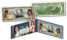 MELANIA TRUMP 45th President FIRST LADY OFFICIAL Legal Tender U.S. $2 Bill w/COA
