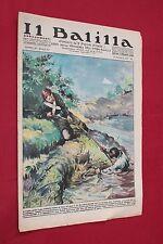 rivista a fumetti IL BALILLA Supplemento Popolo d'Italia ANNO XV N.20 (1937)