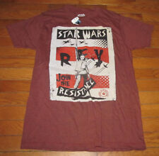 Nwt Adult Shirt Size S Small Star Wars Rey Join The Resistance Member