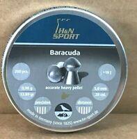 H&N Baracuda .20 Cal 13.89 Grains, Round Nose, 200ct