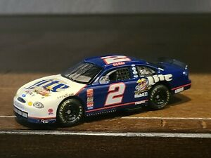 #2 Rusty Wallace Miller Lite 1/64 1990s NASCAR Diecast Loose