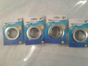 4 Pack  55m Kitchen Sink Strainer Stainless Steel Mesh Bath Drain Stopper Filter