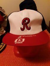 RARE Vintage VTG 80s Rochester Red Wings Mesh Snapback Hat NEW UNWORN DEADSTOCK