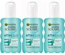 3x Garnier Ambre Solaire After Sun Refreshing Hydrating Moisturiser Spray 200ml
