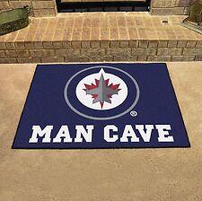 "Winnipeg Jets Man Cave 34"" x 43"" All Star Area Rug Floor Mat"