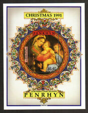 Penrhyn Stamp - 91 Christmas, painting by Raphael Stamp - NH