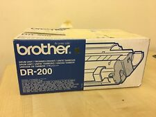 BROTHER DR-200 GENUINE DRUM UNIT - NEW - TATTY BOX