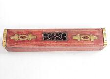 Handmade Vintage Wooden Incense Stick Holder Burner Box