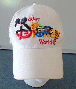 Hat Disney Walt Disney World  Hat Back strap Baseball Cap Embroidered Characters