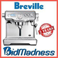 BREVILLE BES920BSS the DYNAMIC DUAL BOILER 2200W  ESPRESSO COFFEE MACHINE