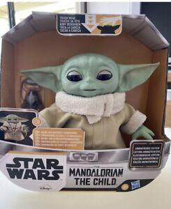 Hasbro Baby Yoda (Grogu) Animatronics Interactive Figure from Mandalorian