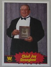 Chief Jay Strongbow WWE 2012 Topps Heritage Card #68 Wrestling Legend Superstar