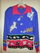 Berek Cat & Mouse Sweater - Excellent Condition - Size Small