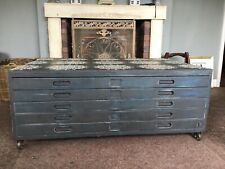 Architects/Artists Plan Chest/Coffee Table