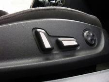 Audi RS5 S5 Sitzembleme Chromschalter Sportsitze Sitzemblem Dekor S-line Alu NEU