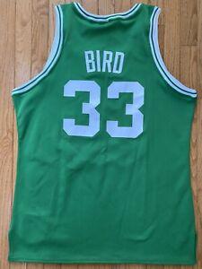 AUTHENTIC Larry Bird MITCHELL & NESS 1985-86 Boston Celtics JERSEY SIZE 46 NEW