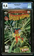 SPIDER-WOMAN #38 (1981) CGC 9.4 APPEARANCE X-MEN SIRYN WHITE PAGES