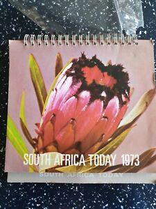 1973 South African Desk Top Calendar