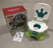 Potty, Fisher-Price Royal Step Stool Potty, Rewards Success with 4 Tunes, EUC